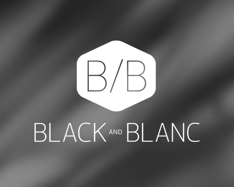 Black and Blanc